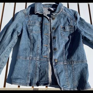 Loft Ann Denim Jacket, Original Size 6p petite
